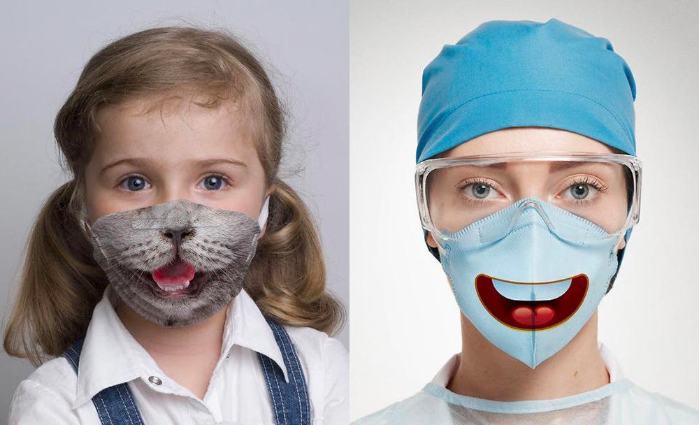 mascherine chiurgiche divertenti e originali per bambini