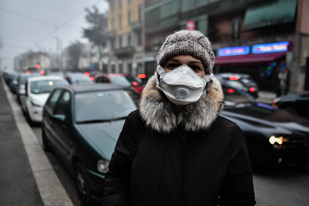mascherine antismog anti inquinamento protezione polveri