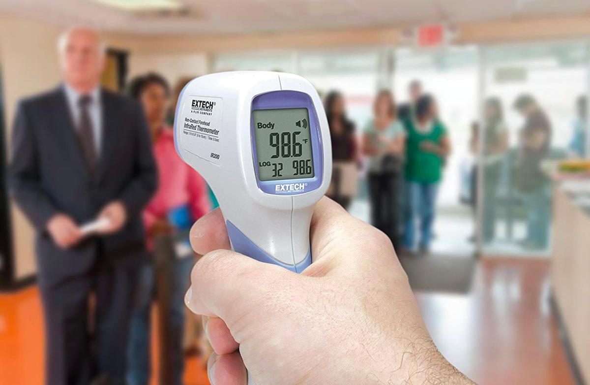 miglior termometro infrarossi uv coronavirus covid